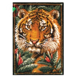Tiger Latch Hook Rug Kit