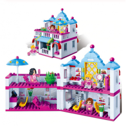 BanBao Beauty Salon Building Blocks