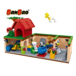 BanBao Peanuts Snoopy Secret Cellar Building Blocks